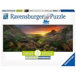 Ravensburger Nature Edition Panorama Sonne über Island Puzzle 1000 Teile