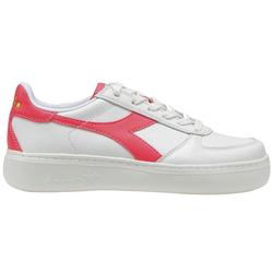 Diadora B Elite Wide Woman - Sneaker - Damen White/Pink 6,5 UK