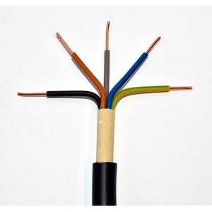 METERWARE Erdkabel NYY-J 5x2,5 mm2 schwarz 5x2,5 qmm Starkstromkabel Energiekabel - bestellte Menge entspricht der gelieferten Länge