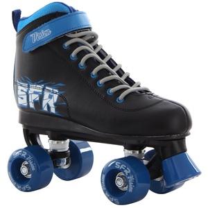 SFR Vision II Kinder Rollschuhe, Mehrfarbig (Schwarz / Blau), 38 EU