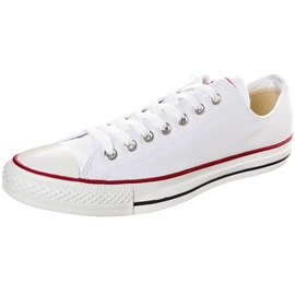 Converse Chuck Taylor All Star Ox white white red, 44 ab 38