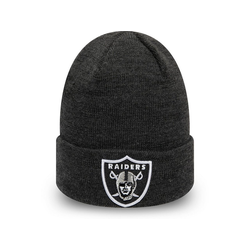 New Era Fleecemütze Beanie HEATHER Oakland Raiders