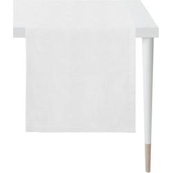 APELT Tischläufer Apart, LOFT STYLE (1-tlg), UNI-BASIC weiß