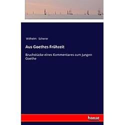 Aus Goethes Frühzeit