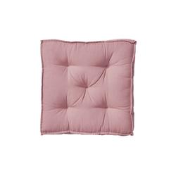 BUTLERS Sitzkissen SOLID Sitzkissen L 40 x B 40cm rosa