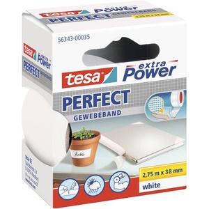 TESA 56343-00035-02 Gewebeklebeband tesa® extra Power Weiß (L x B) 2.75m x 38mm 1St.