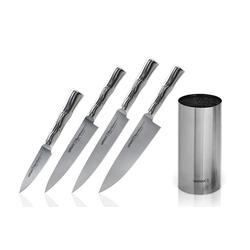 Samura BAMBOO Messerset 4-teilig + Messerblock