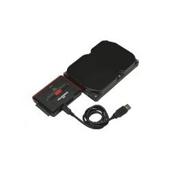 Manhattan Hi-Speed USB to SATA/IDE Adapter Massenspeicher Controller ATA / SATA 3Gb/s (179195)