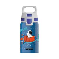 Sigg Trinkflasche Edelstahl-Trinkflasche SHIELD ONE Space, 500 ml blau