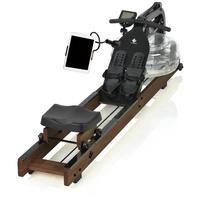 FitEngine Rudergerät FitEngine Rudergerät dunkelbraun (Limited Edition) inkl. Wassertank braun