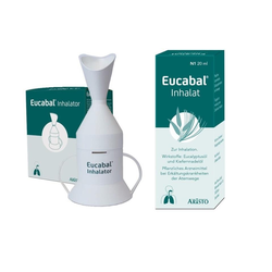 Eucabal Inhalat + Inhalator Set
