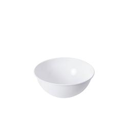 Riess Salatschüssel Salatschüssel WEISS, Emaille, (1-tlg)