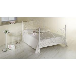 Metallbett Amarete - 160x220 cm - weiß