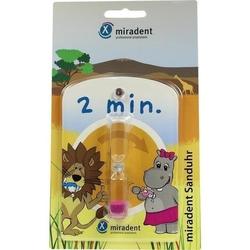 MIRADENT Kinder-Zahnputzuhr Sanduhr 1 St.