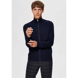 SELECTED HOMME Cardigan Berg Full Zip Cardigan blau L (50)