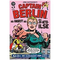 Jörg Buttgereits Captain Berlin. Levin Kurio  Jörg Buttgereit  - Buch
