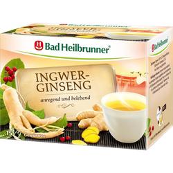 BAD HEILBRUNNER Tee Ingwer Ginseng Filterbeutel