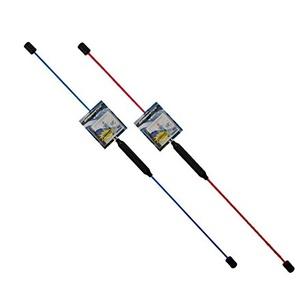 TALK-POINT TP Swingstick - Schwungstab - Flexistab inkl. Übungs-DVD (Rot)