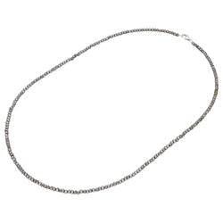 Smart Jewel Smart Jewel Kette Steinkette Kristallsteine hämatit, Silber 925