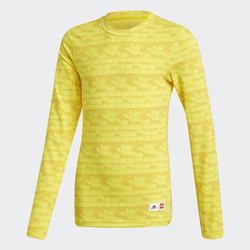 adidas x Classic LEGO® Bricks Long-Sleeve Top Fitted Long-Sleeve Top