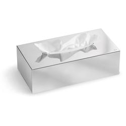 BLOMUS Papiertuchbox Kleenex-Box -NEXIO- poliert silberfarben
