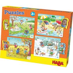 Haba Puzzle Jahreszeiten, 60 Puzzleteile