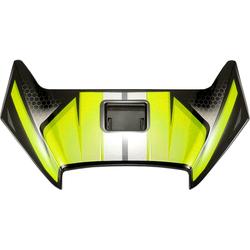 Shoei X-Spirit III Aerodyne, Lüftungsschieber - Neon-Gelb/Schwarz/Grau