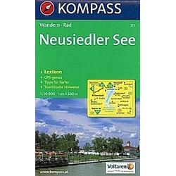 KOMPASS Wanderkarte Neusiedler See - Buch