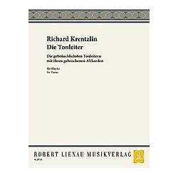 Die Tonleiter  für Klavier. Richard Krentzlin  - Buch