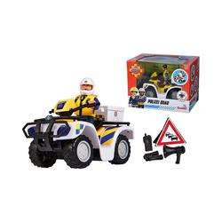 SIMBA Spielfigur Feuerwehrmann Sam Polizei Quad mit Figur