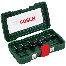 BOSCH Fräser-Set , 6-tlg., 8 mm Schaft grün