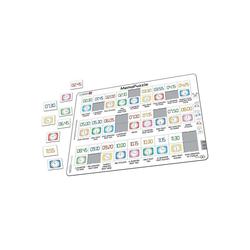 Larsen Puzzle Memo-Puzzle Uhr, Puzzleteile