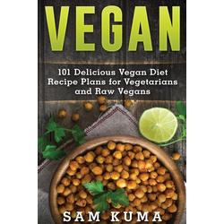 Vegan als Buch von Sam Kuma