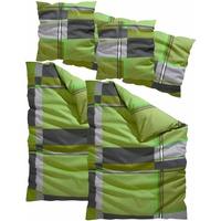 Linon grün (2x135x200+2x80x80cm)