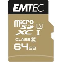 Emtec microSDXC Speedin 64GB Class 10 UHS-I U3 + SD-Adapter