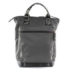 George Gina & Lucy Rucksack Nylon Roots Solid grau