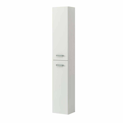 Midi Badschrank in Weiß 30 cm