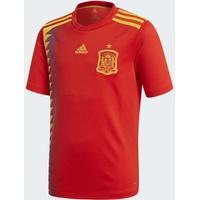 adidas Spanien Kinder Heim Trikot Weltmeisterschaft 2018 red/bold gold