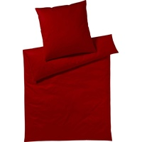 Yes for Bed Pure & Simple Uni weinrot (155x220+80x80cm)