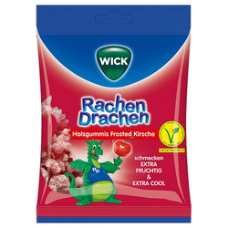 WICK RachenDrachen Halsgummis Kirsche 75 g