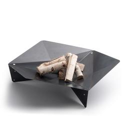 HÖFATS Feuerschale TRIPLE 120 aus Corten-Stahl