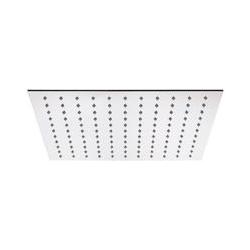 Wassersparender Duschkopf - quadratisch - 400 mm