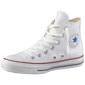 Converse Chuck Taylor All Star Basic Leather Hi Sneaker weiß 37,5
