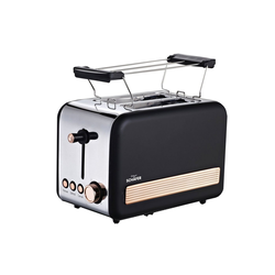 Schäfer Elektronik Toaster Toaster Deluxe, 2 Schlitz-Toaster, 850 W
