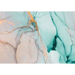 Consalnet Vliestapete Zerbrochenes Glas, geometrisch 3,68 m x 2,54 m