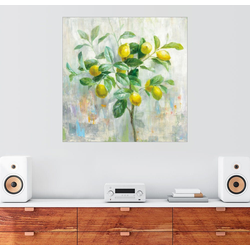 Posterlounge Wandbild, Zitronenbaum 20 cm x 20 cm