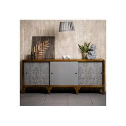 relaxdays Sideboard Sideboard Holz