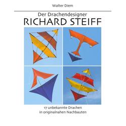 Der Drachendesigner Richard Steiff als Buch von Walter Diem