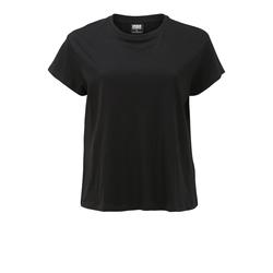 Urban Classics Curvy Damen Shirt schwarz