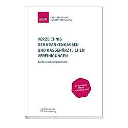 Verzeichnis der Krankenkassen und Kassenärztlichen Vereinigungen - Buch